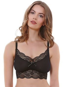 Freya Fancies 1010 bralette top czarny